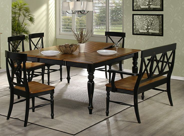 Emerald Home Gatlinburg Dining Table With 20 In Butterfly Leaf