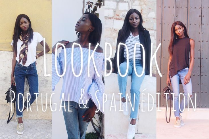 As I was travelling around Portugal & Spain just last week, I decided to film a Lookbook of all the different outfits that I was weari...