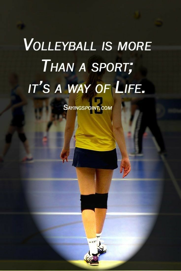 Pin By Ayleen On Quotes Volleyball Quotes Sport Quotes Volleyball