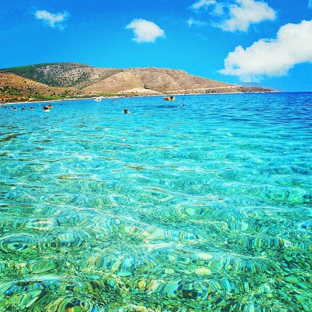 Crystal waters Datca, Türkiye - @Müge Çelikörs- #webstagram