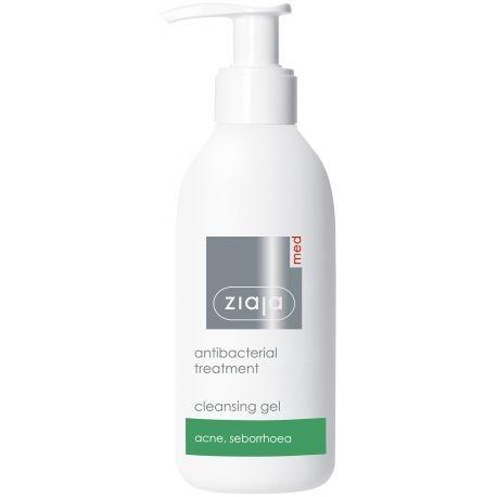 Gel limpiador facial antibacteriano para pieles con #acné #dermatitisseborreica #ziaja #onlinecosmeticos