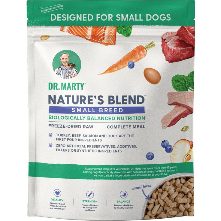 Dr martys natures blend small breed freezedried dog