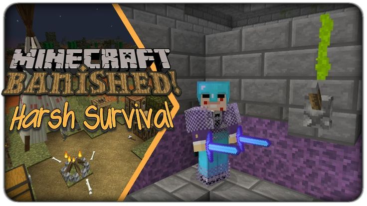 [Lets Play] Banished (1.10.2) :: E16 - Redstone and Enderman Farm