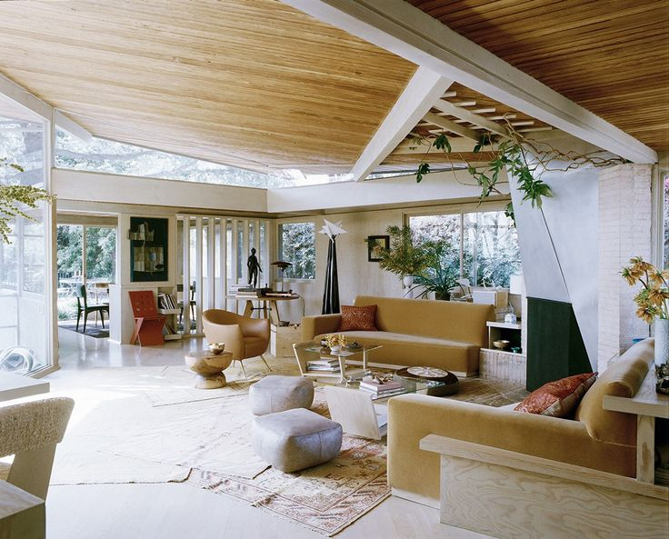The first space is a private residence on amanda drive in studio city california originally designed by rudolf schindler in this renovation took a
