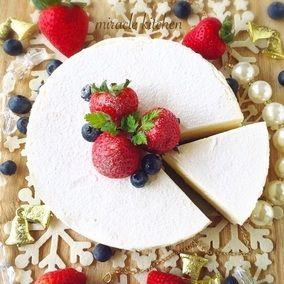 ♡混ぜて冷やして超簡単♡純白のとろける生チョコフロマージュ♡【オーブン不要*レアチーズケーキ】|レシピブログ