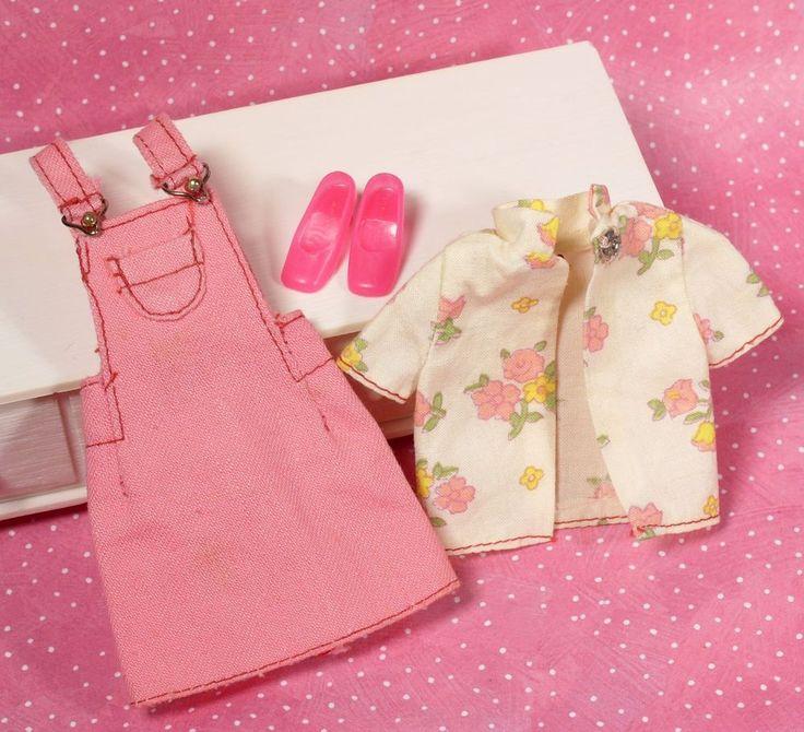 Vintage Mod Francie #7764 Best Buy Pink Jumper Blouse Pink Heels HTF 1974 VGUC #Mattel #ClothingShoes