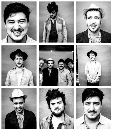 They couldn't be any cuter! Mumford and Sons