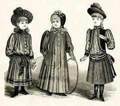 Картинки по запросу викторианская детская мода
