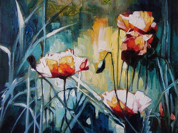 Les fleurs de mon jardin, Michel Orlinsky