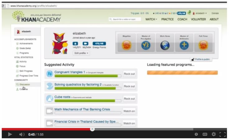 how to make a student account on khan academy
