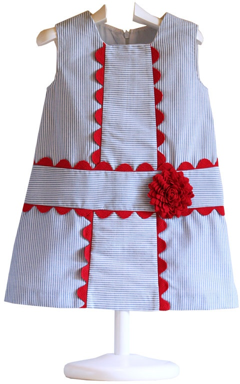 Vestido Infantil Marinero Yoedu - demelocoton.com