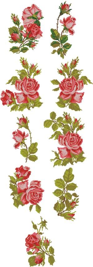 Advanced Embroidery Designs - Garden of Roses Set