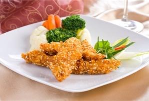 Chrupiące kąski z sezamem / Crispy chicken with sesame seeds  www.winiary.pl