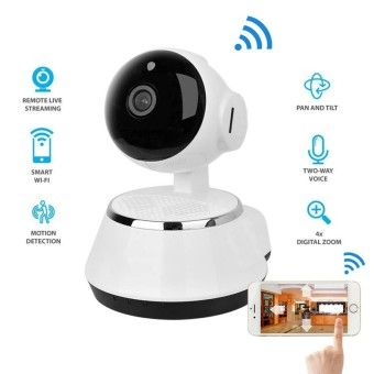 Good Prices New ! Pan Tilt Wireless IP Camera WIFI 720P CCTV Home Security CamMicro SD Slot Support Microphone & P2P Free APP ABS PlasticOrder in good conditions New ! Pan Tilt Wireless IP Camera WIFI 720P CCTV Home Security CamMicro SD Slot Support Microphone & P2P Free APP ABS Plastic You save NO037ELAAA2BP0ANMY-21409814 Uncategorized   Not Specified New ! Pan Tilt Wireless IP Camera WIFI 720P CCTV Home Security CamMicro SD Slot Support Microphone & P2P Free APP ABS Plastic