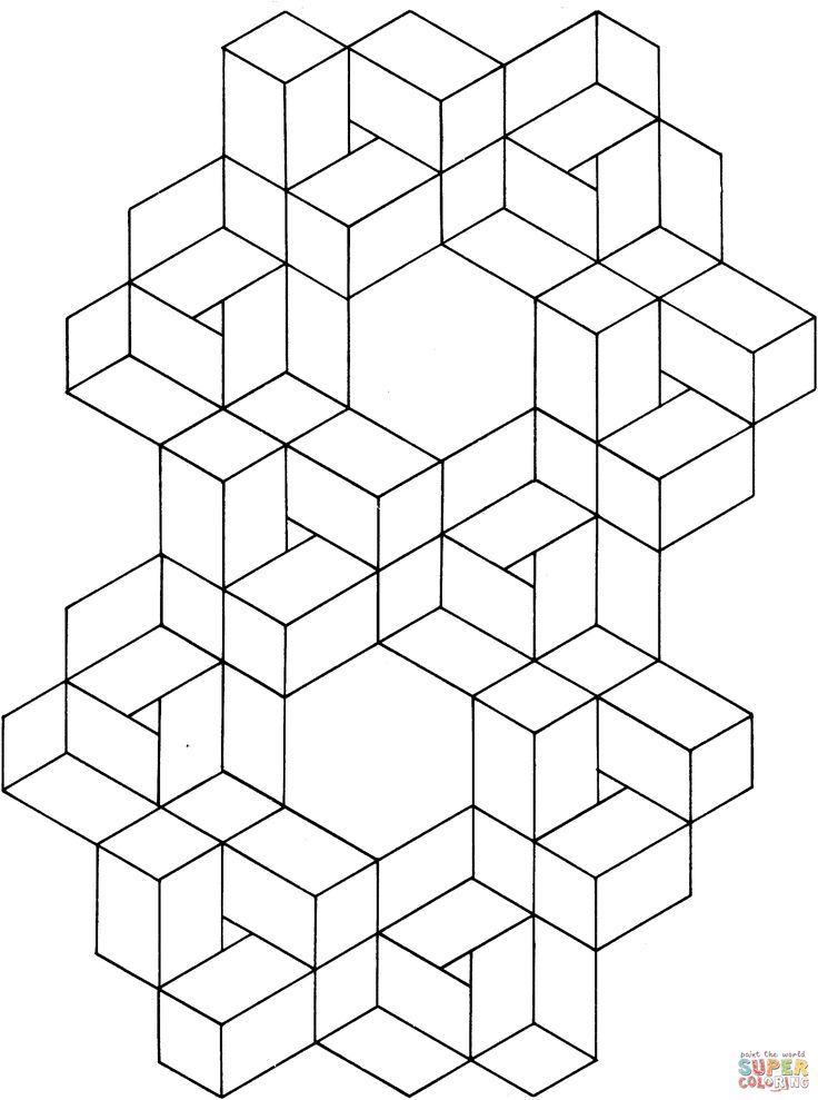 optical illusions coloring pages enjoy coloring