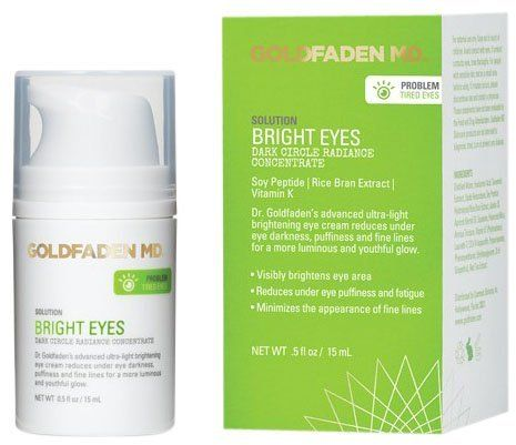 Goldfaden Skincare Bright Eyes Dark Circle Radiance Concentrate - 0.5 oz
