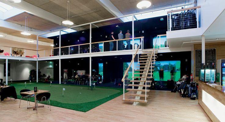 Golf Simulators Fun Business Ideas Indoor Golf