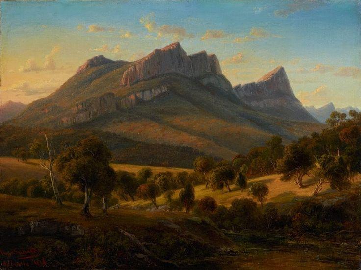 Von Guerard, Mt Abrupt