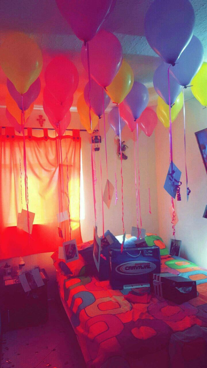 Sorpresa de cumpleaños a mi novio