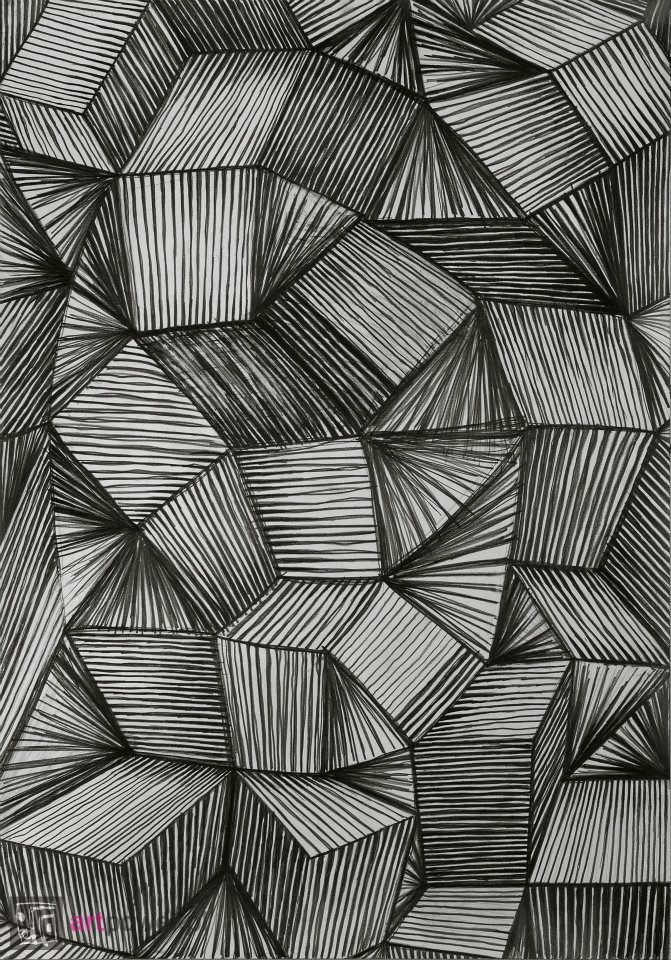 Janina Wierusz-Kowalska, Boxes, pencil on paper, 100 x 70 cm, 2011