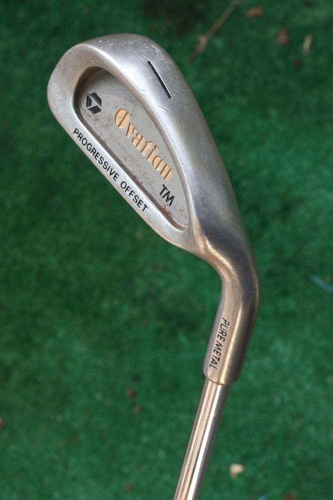 Callaway Golf Clubs >> Ovation Progressive Offset Pure Metal 1 iron - used single ...