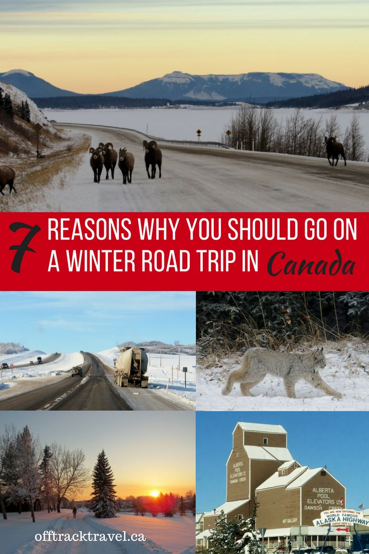 7 Reasons Why You Should go on a Winter Road Trip in Canada - offtracktravel.ca