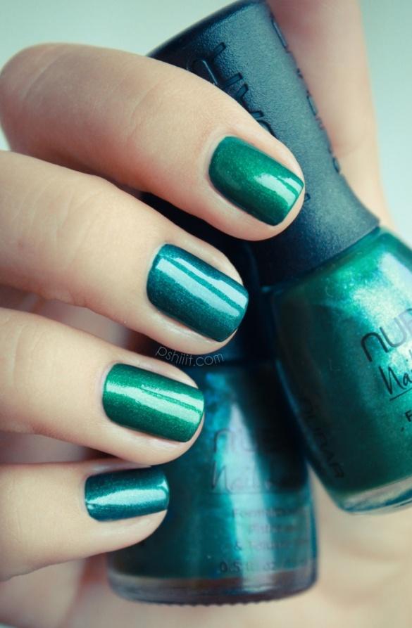 NUBAR  http://pshiiit.com: Emeralds Nails, Nails Art, Teal Nails, Spring Colors, Nailpolish, Colors Nails, Nails Polish, Green Nails, Blue Nails