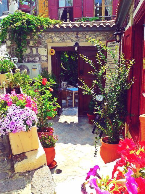 Sansibal Restaurant, Mithymna, Lesvos Island, Greece