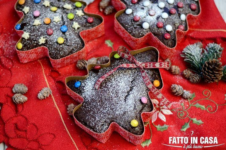 Fatto in casa è più buono!: Alberelli al Cioccolato e Frutta Candita