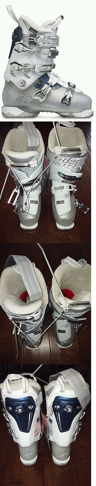 Women 21241: Nordica Nxt N3 W Downhill Ski Boots White - New -- 23.5 BUY IT NOW ONLY: $124.94