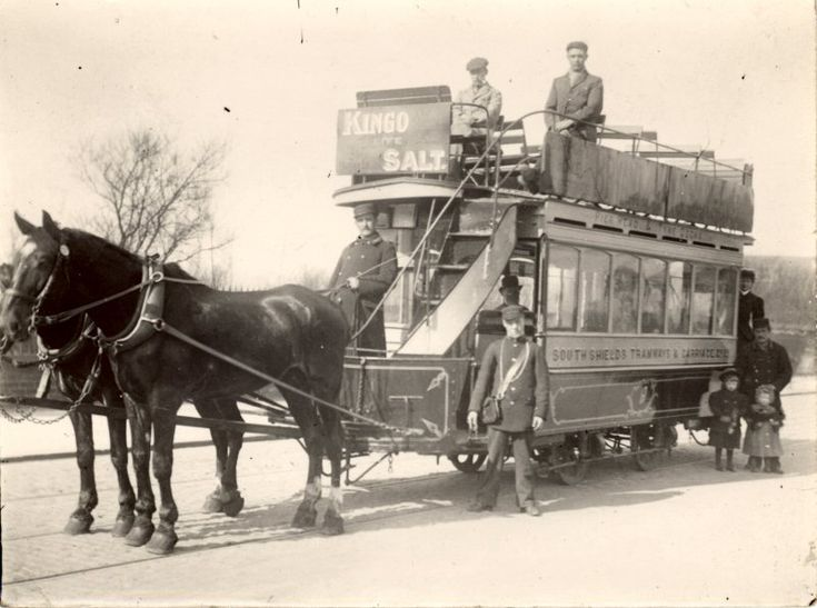 Technology in the 1800s Horses Getting the job done