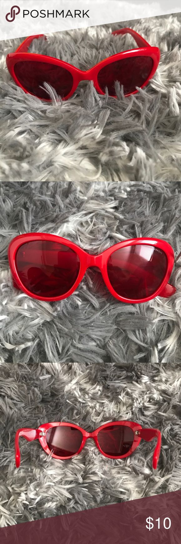 Amber Rose Sunglasses Amber Rose red sunglasses amber rose Accessories Sunglasses