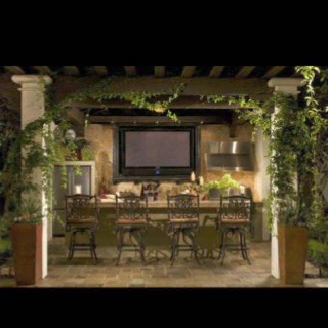 Outdoor Kitchens and Bars | This WILL be my outdoor kitchen/bar !!!