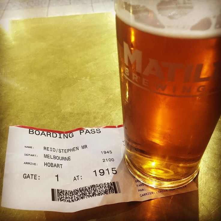 A three hour wait in Melbourne can only mean one thing...a beer at PJ O'Briens #melbourneairport #beer