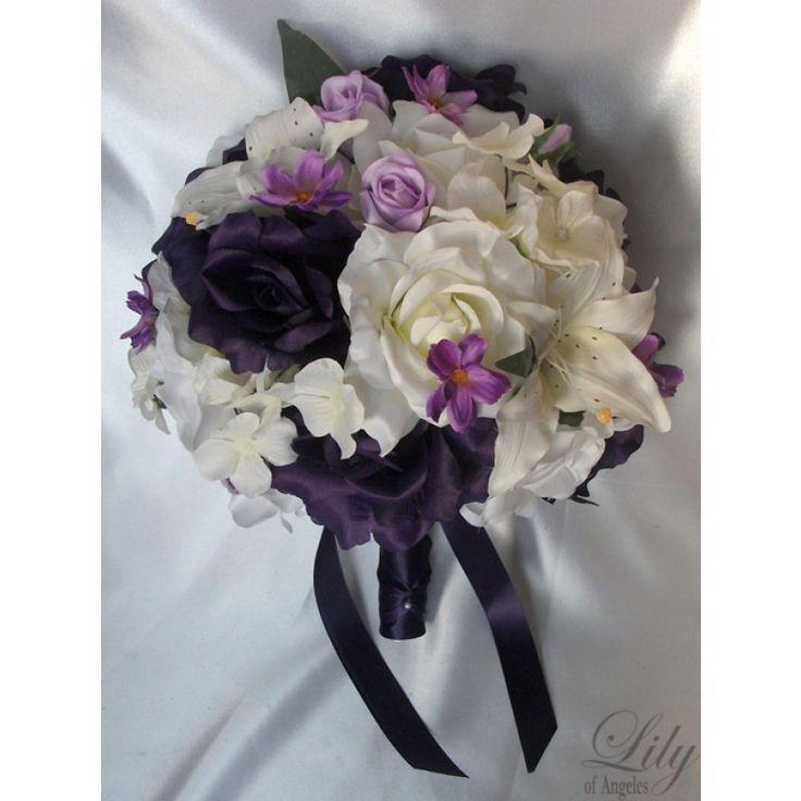 Ivory/Purple/Lavender