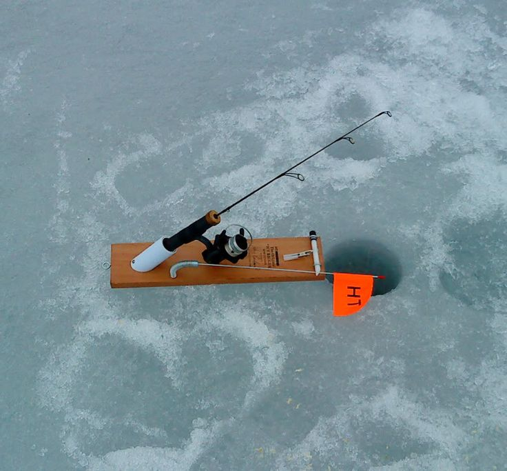 Diy ice fishing tip up google search fishing for Tip up fishing