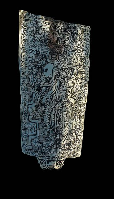 Out space Mayan stela | Flickr - Photo Sharing!: