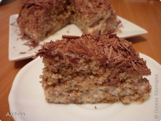 Ореховый торт за 5 минут в микроволновке без муки и масла