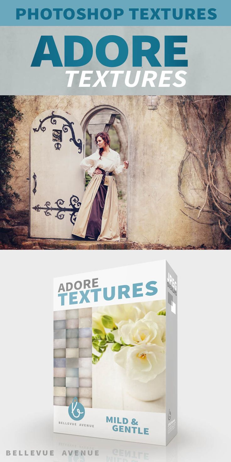 Soft, sweet gentle texture and toning, the Adore Textures from Bellevue Avenue give your images the perfect amount of texture while retaining skin tones.