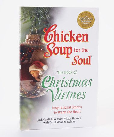 Take a look at this Chicken Soup for the Soul: Book of Christmas ...