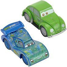 Disney Pixar's Cars 2 Wood Collection 2-Pack - Carla Veloso & Cruz Besouro by Toys R Us. $9.99. CHOKING HAZARD - Small parts. Not for children under 3 yrs.. Recommended Age: 3 years and up. Introducing the Disney Wood Collection of Cars! Collect all of your favorite characters from the Disney/Pixar movie, Cars 2! This pack includes Brazilian racer Carla Veloso & her crew chief, Cruz Besouro. The vehicles are compatible with most wooden track sets join in the fu...