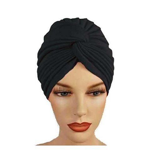 Women's Twisted Pleated Swim Bathing Turban Head Cover / Sun Cap - 7 Colors for only $7.99 You save: $16.00 (67%)