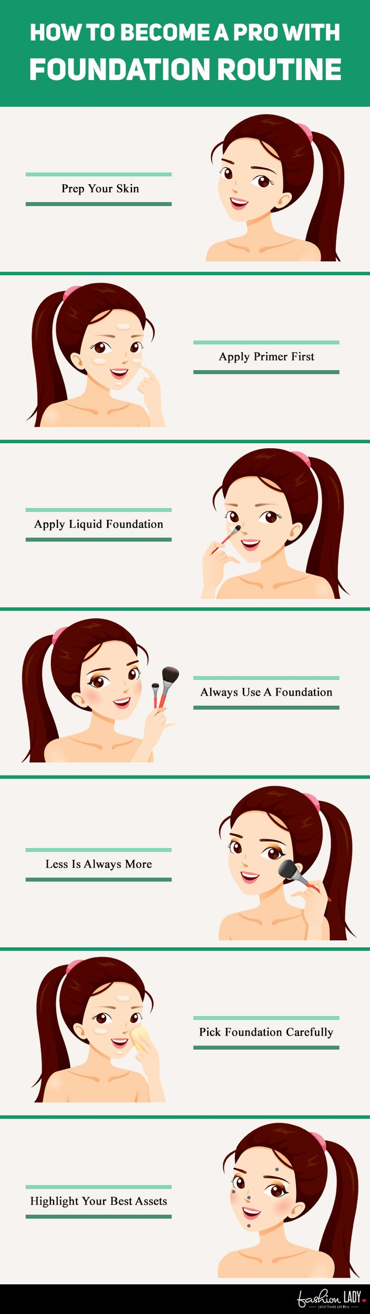 How To Become A Pro With Foundation Routine