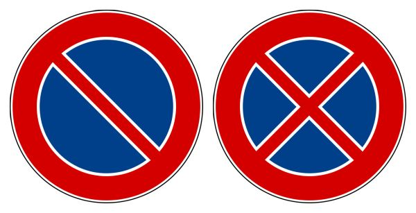 Creative Commons Images By Flanker Blue Road Signs Traffic Signs Road Signs