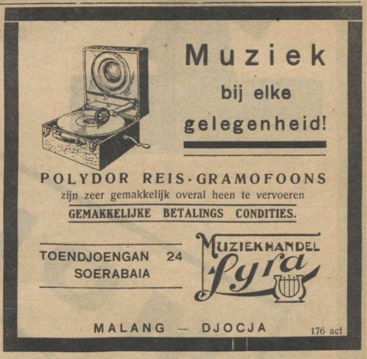 Advertentie De Indische Courant, 11-09-1929