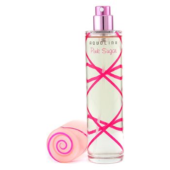 Pink Sugar...vanilla, caramel, orange, raspberry, fig leaves, lily of the valley, licorice, strawberry, red fruit, cotton candy, musk, sandalwood, tonka bean, and powdery notes. Best scent ever