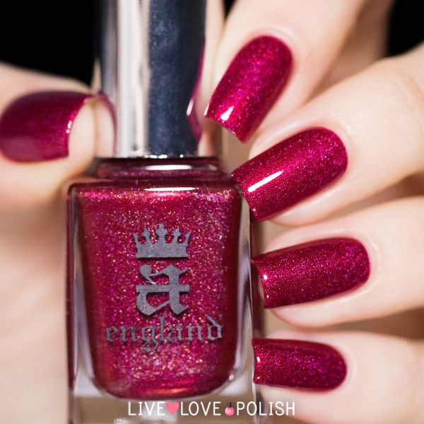 A-England Rose Bower Nail Polish (Burne-Jones Dream Collection)
