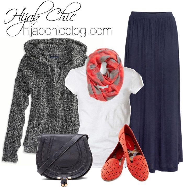 Hijab Style: American Eagle top