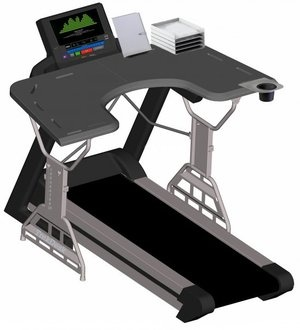 Trekdesk Treadmill Desk Too Busy To Work Out On A Daily Basis Turn The Which Encourages You Walk Slowly While
