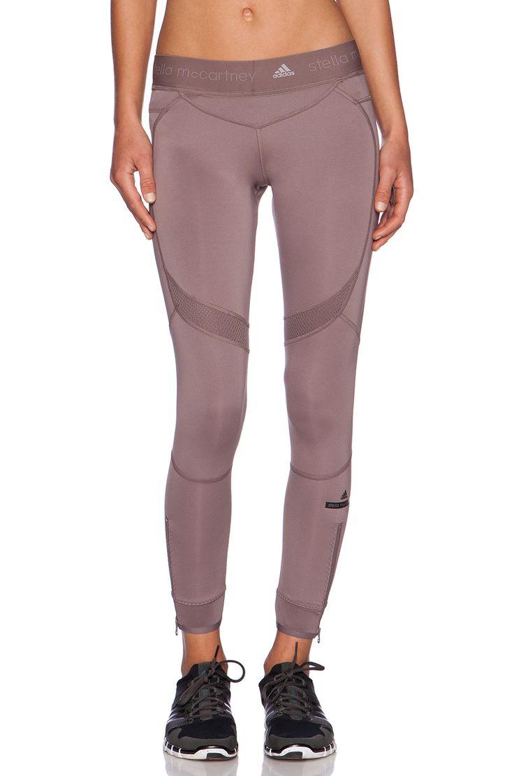 adidas by Stella McCartney Running 7/8 Tight in Cement Grey